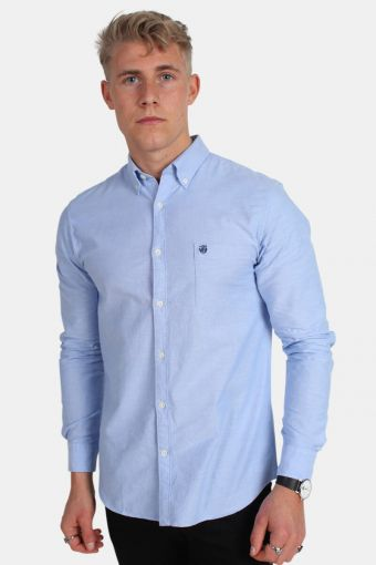 Collect Skjorta Light Blue