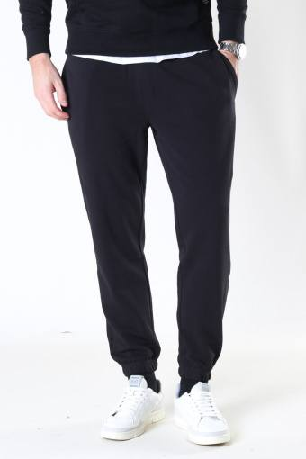 Basic Organic Pants Black