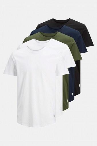 Enoa 5-Pack T-shirt White/2White
