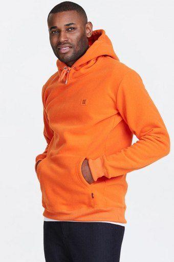 Piece Fleece Hoodie Orange