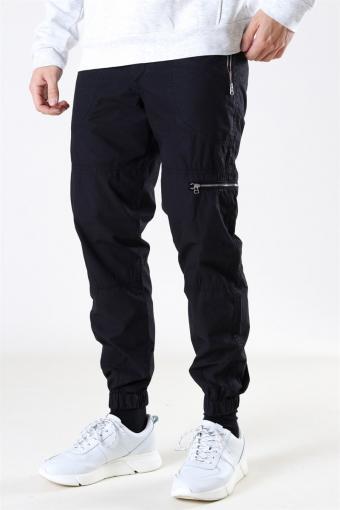 Rambo Cargo Pants Black