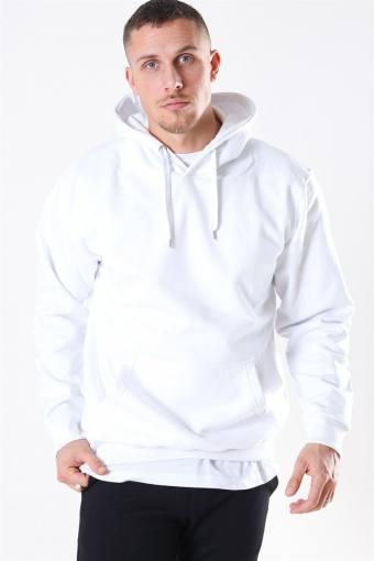 Hooded Tröja White
