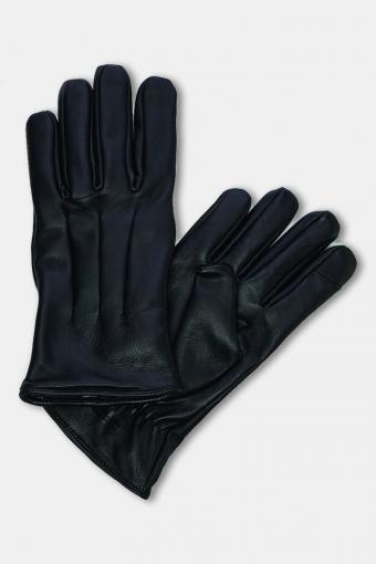 Montana Læder Handskar Black
