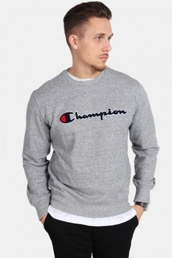 Crewneck Sweatshirt Light Grey Melange