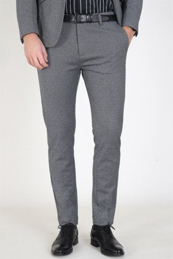 Milano Jersey Pants Dark Grey Mix