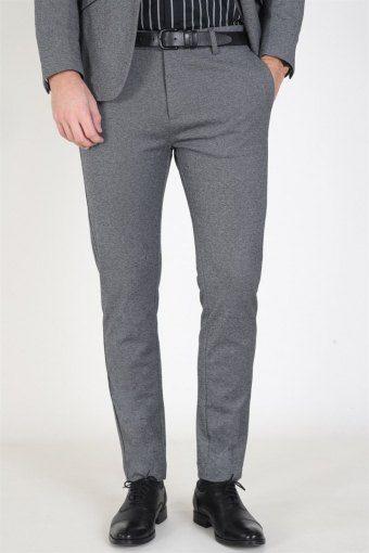 Clean Cut Milano Jersey Pants Dark Grey Mix