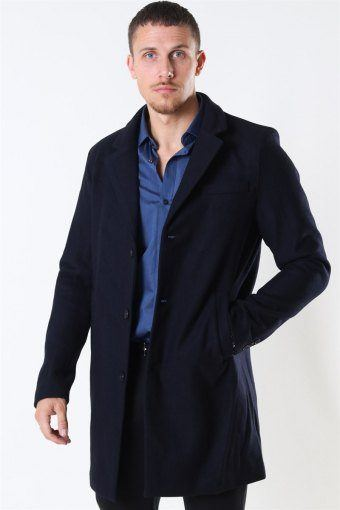 Tailored & Originals Sonny Plain Jacka Insignia Blue
