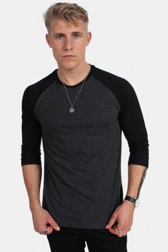 Tb366 T-shirt Charcoal/Black