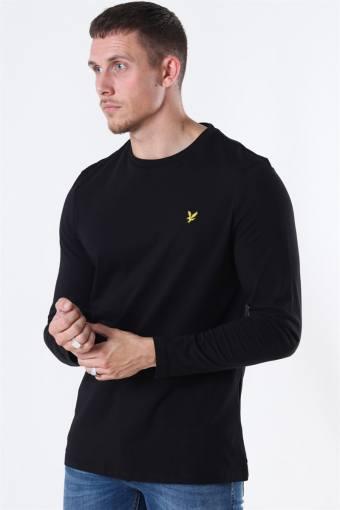 LS Crew Neck T-shirt Jet Black