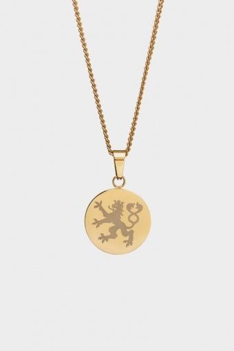 Lionheart Pendant Halsband Gold