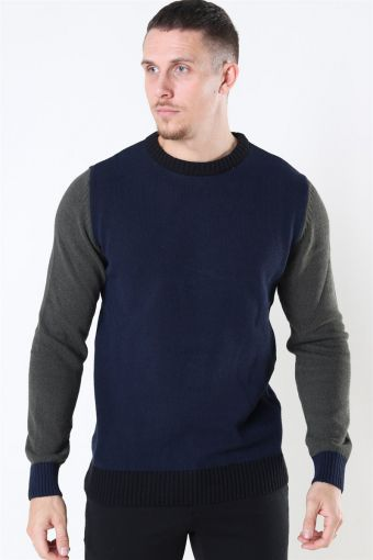 Michael Crew Recycle Sticka Navy/Army