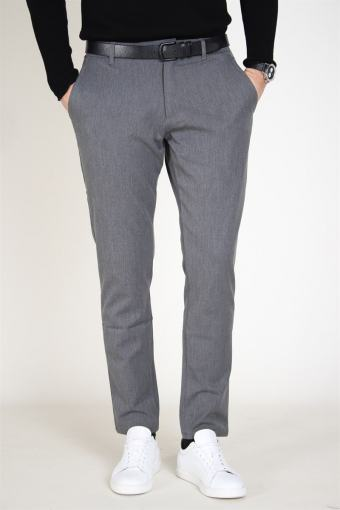 Tailored & Originals Fred Pants Medium Grey Melange