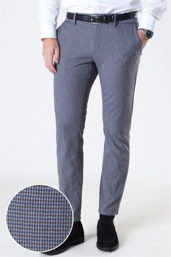 Mark Pants Check DT 7046 Medium Grey Melange