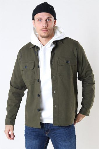 Topper LS Overshirt Army