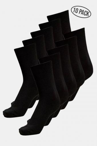 Andrew 10-Pack Strumpor Black
