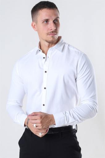 Earman Skjorta Optical White