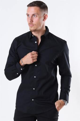 Bart Life LS Organic Skjorta Noos Black
