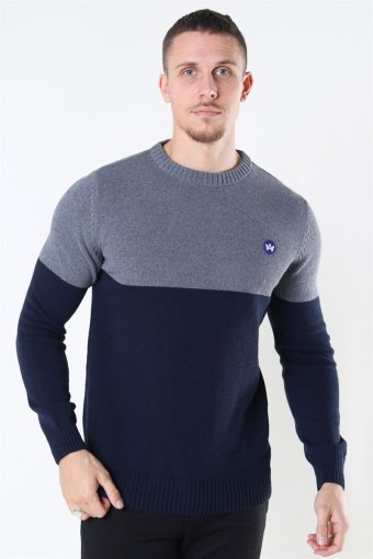 Lukas Crew Recycle Sticka Anthracite/Navy
