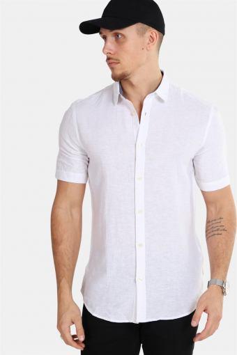 Tailored & Originals Karter S/S Skjorta Off-White