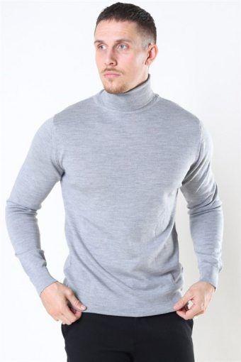 Clean Cut Merino Wool Roll Sticka Light Grey Mel