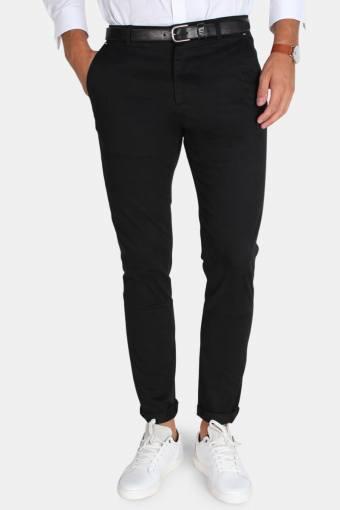 Tailored & Originals Rainford Byxor Black