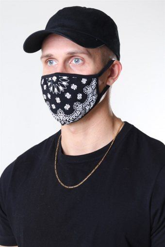 Bandana Munstycke 2-Pack Black/White