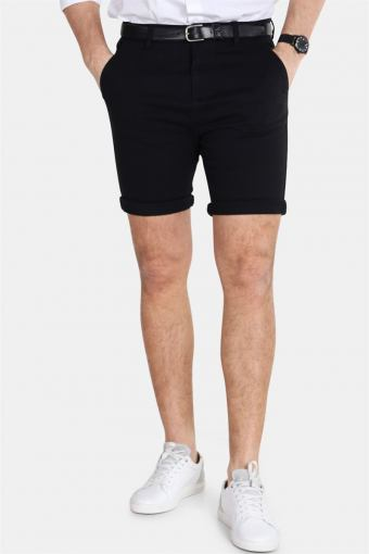Clean Cut Lucca Chino Shorts Black
