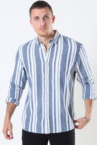 Sälen 146 LS Skjorta Blue/Off White