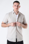Selected SLHSLIMNEW-LINEN SHIRT SS CLASSIC W Crockery