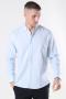 Clean Cut Cotton Linen Skjorta Sky Blue