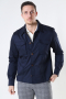 Mos Mosh Gallery Milo Cole Overshirt Navy